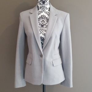 Express Light Gray Blazer